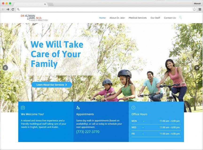 Dr Jabr Website