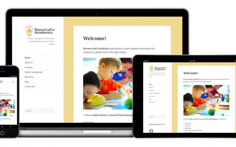 Resourceful Academics - Redesign